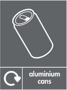Aluminium Recycle Sticker