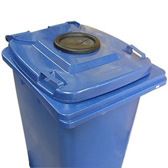Bottle Bank Lid w/Rubber Baffle