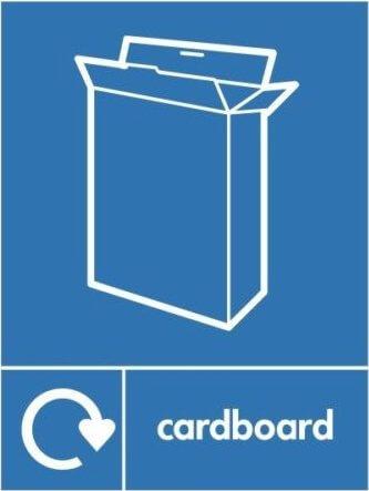Cardboard Recycle Sticker