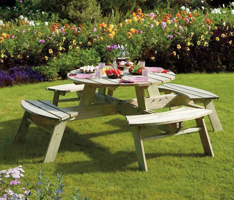 Picnic Table - Round