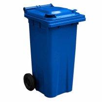 Blue 120 Litre Wheelie Bin - Main GWB