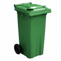 Green 120 Litre Wheelie Bin - Main GWB