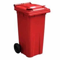 120 Litre Red Wheelie Bin - main GWB