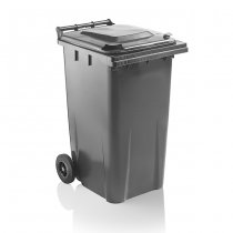 Dark Grey 240 Litre Wheelie Bin