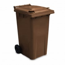 240 Litre Brown Wheelie Bin - Main GWB