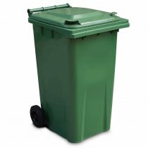 Green 240 Litre Wheelie Bin
