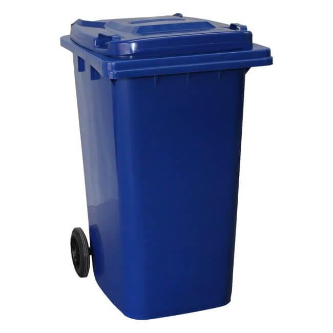 Blue 240 Litre Wheelie Bin
