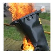 Wheelie Bins on Fire!