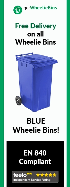 Blue Bins Side Banner