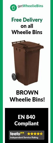 Brown Bins Side Banner
