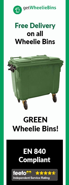 Green Bins Side Banner