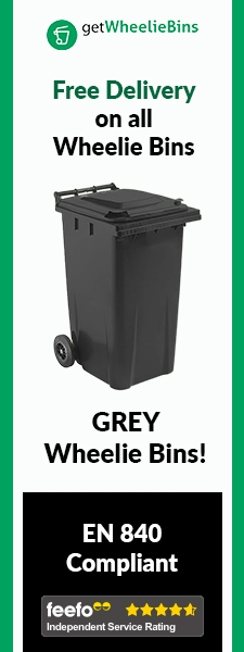 Grey Bins Side Banner
