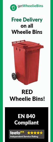 Red Bins Side Banner