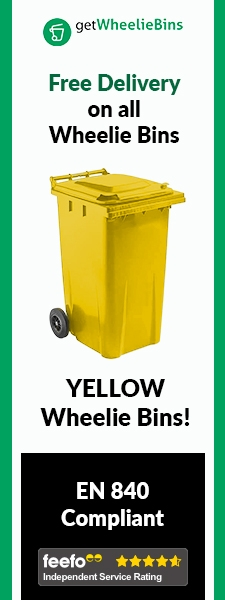 Yellow Bins Side Banner