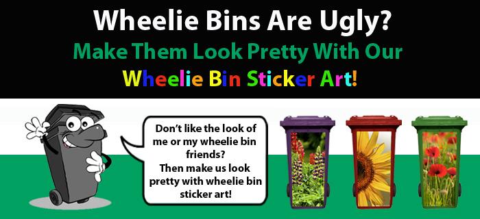 Wheelie Bin Art